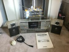 Very Rare Vintage Casio KX101 Ghetto Blaster Boom Box Keyboard Radio Cassette