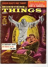 WoW! Monsters And Things #2 Frankenstein! Rodan! Monster From Green Hell! Pinups