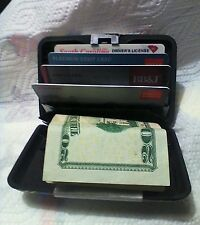 'WOW'(1)*NEW* Aluma Wallet Case!~Credit Card Holder! With (finger snap lock!)