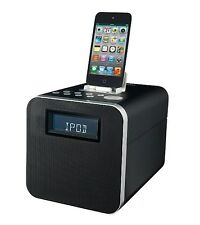 Polaroid Docking Station Speaker Dock Alarm Clock iPod iPhone 3 4 iPod 30 Pin