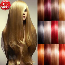 "Best Grade AAAAA Clip In Remy Human Hair Extensions Full Head 20"" 22"" 24"" US A16"