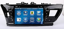 "9"" Touch Screen Stereo Car Radio DVD Player GPS Navigation For Toyota Corolla US"
