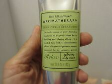 Bath and Body Works Aromatherapy Hydrating Body Cream,  Relax or Calming