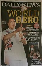 MUHAMMAD ALI 1942-2016 DAILY NEWS NEWSPAPER TRIBUTE AND POSTER BRAND NEW