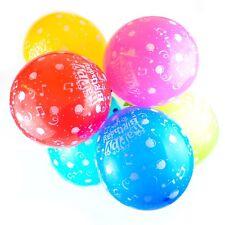 Paquet de 25,4-30,5cm Ballons Anniversaire - Latex Joyeux Fête imprimé (Musique)
