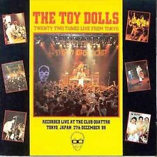 22 Twenty Two Tunes Live from Tokyo Toy Dolls CD Receiver NELLIE THE ELEPHANT