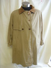 Ladies Coat - Colette, size 16, browny/mustard colour, mac/trench, used - 2372