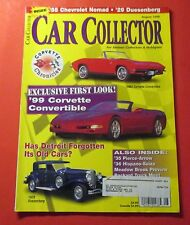 CAR COLLECTOR MAGAZINE AUG/1998..EXCLUSIVE FIRST LOOK: 1999 CORVETTE CONVERTIBLE