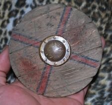 """Custom Wooden Viking Shield for 1/6 scale 12"""" Action Figure Man. Knight Dragon"""