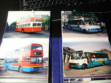"NORTH EAST & PENRITH BUSES - 79 x 7x5"" BUS PHOTOS 2000 Alnwick Westgate Etc."