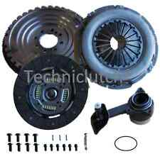 FORD MONDEO 2.0 DURATORQ NEW SOLID CLUTCH KIT AND FLYWHEEL WITH CSC