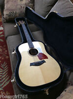 MINTY CONDITION-2004 TAYLOR 710-ACOUSTIC GUITAR W/HARD SHELL CASE-SITKA SPRUCE