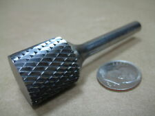 NEW SGS 3/4 CARBIDE BURR ALUMINUM CUTTING DEBURRING MACHINIST BUR TOOL MILL TOOL