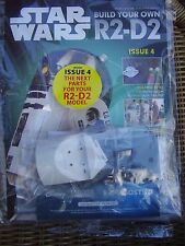 DEAGOSTINI STAR WARS R2 D2 # 4  PARTWORK  1:2 SCALE BUILD YOUR OWN MODEL DROID