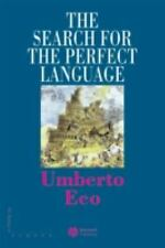 The Search for the Perfect Language (Making of Europe), Umberto Eco, Acceptable