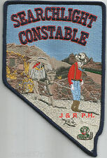 """Searchlight - Constable, NV  (4"""" x 6"""" size)   shoulder police patch (fire)"""