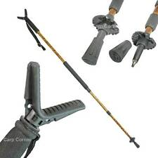 New Adjustable Telescopic Hunting Monopod Air Rifle Shooting Stick Stand In Camo