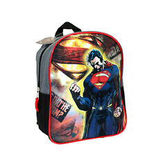 "Backpack 11"" SUPERMAN DC Comics Man of Steel Toddler Mini School Bag NWT"