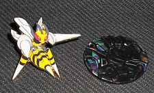 2016 Mega M Beedrill EX Collector PIN + COIN Combo Unused OFFICIAL Pokemon