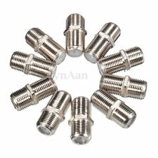 10 X Joiner Barrels Connector F Plug Coupler Adapter 4 Sky Plus HD TV Coax Cable