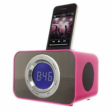 Kitsound CLOCKDPI iPod Touch iPhone 3 4 4S Clock Radio Dock Docking Station