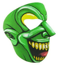 Green Goblin Neoprene Ski Mask Full Motorcycle Biker Spider Man Face Mask NEW +