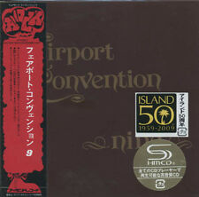 FAIRPORT CONVENTION Nine (1973) + 4 bonustracks Japan Mini LP SHM-CD UICY-93997