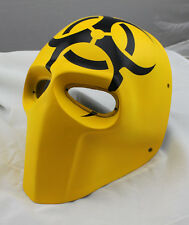 NEW Yellow Paintball CS Airsoft Full Face PC Lens Eye Protection Skull Mask L789