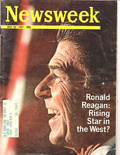 MAY 22, 1967-NEWSWEEK MAGAZINE-ROANLD REAGAN-RISING STAR IN THE WEST-RARE
