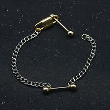 Fashion Gold Dumb bell Locket Charms Cuff Bracelet Chain Woman Jewellery Gift