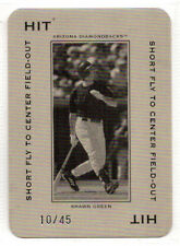 2005 Donruss Throwback Threads SHAWN GREEN Polo Grounds HIT Short Fly /45 #PG-76