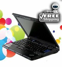 Cheap Laptop IBM Lenovo 1.83Ghz 3GB 60GB WiFi Windows 7 Pro 32Bit & Office
