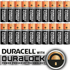 48X Duracell AA Alkaline LR6 1.5V Batteries MN1500 Duracel Plus Power Battery