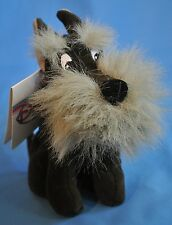 Jock Scottish Terrier Dog Lady and Tramp Disney Store Mini Bean Bag Toy Plush