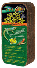 Zoo Med ECO EARTH brick 650g, Coconut fibre block reptile / frog substrate fiber