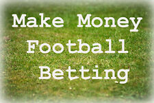 How to Make Money from Football - Betfair Betting & Gambling Systems