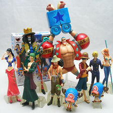 New in Box One Piece 10pcs  New World Ver 2 Years Later Figure Set Figurine