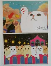 Jetoy Choo Choo Cat Postcards Space Dreams Penpals Kitty Kitten Kawaii