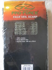 Army Surplus Camo Face/Sniper Veil Scarf NEW