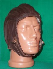 Bulgarian Special Forces Padded Leather HELMET Paratrooper JUMP CAP sz.Large