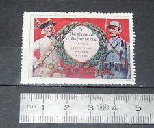 DELANDRE CINDERELLA 1915 GUERRE 14-18 5e REGIMENT D'INFANTERIE FLEURUS ANVERS