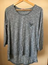 Epilogue Blue Marl Size 12 Polyester Mix Top  T10496