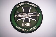 Ricamate/PATCH GERMAN ARMY ESERCITO AEREO nh-90 ca 10cm