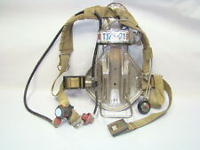 ISI Magnum SCBA Fire Fighter Prepper Air Pack Harness w/ Regulator (H17-1195)