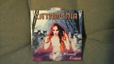 CATAMENIA - MORNING CRIMSON. PROMO CD CARDSLEEVE