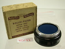 Original Rollei Rolleiflex Filter Infrarot Rot Infra Red Bajonett B-I 28,5 (5)