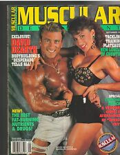 MUSCULAR DEVELOPMENT magazine/David Dearth /Alphie Newman poster 9-93