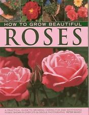 HOW TO GROW BEAUTIFUL ROSES - PETER MCHOY (HARDCOVER) NEW