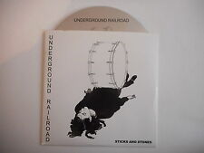 UNDERGROUND RAILROAD : STICKS AND STONES [ CD SINGLE ] ~ PORT GRATUIT !