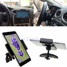 For GPS Tablet iPad Mini 7'' iPhone 6 Adjustable Car CD Slot Mount Holder Stand